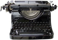 Traditional typewriter
