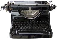 Traditional typewriter